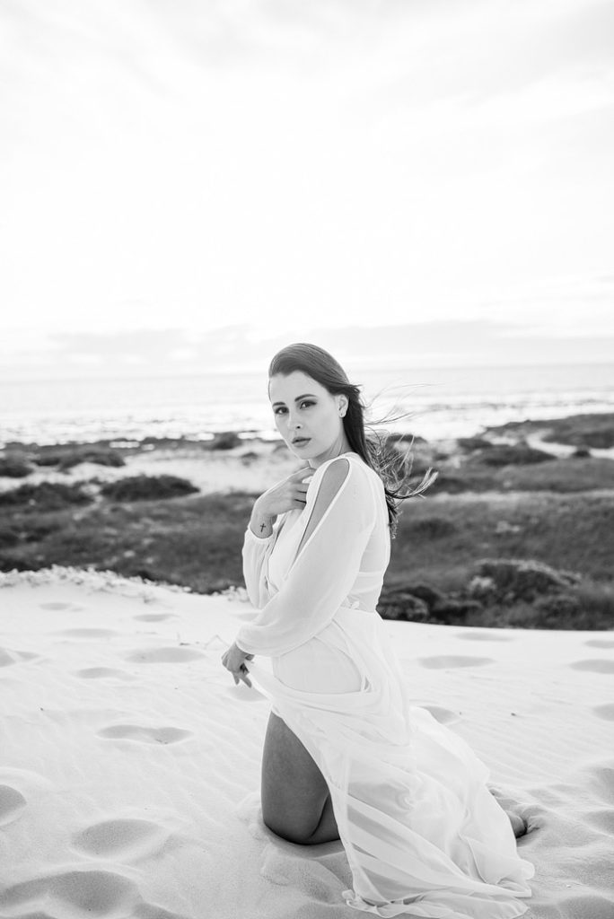 Portrait Photo shoot in Melkbosstrand, Cape Town
