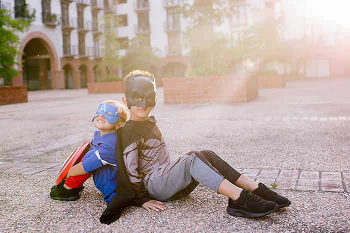 Kids superhero shoot Cape Town