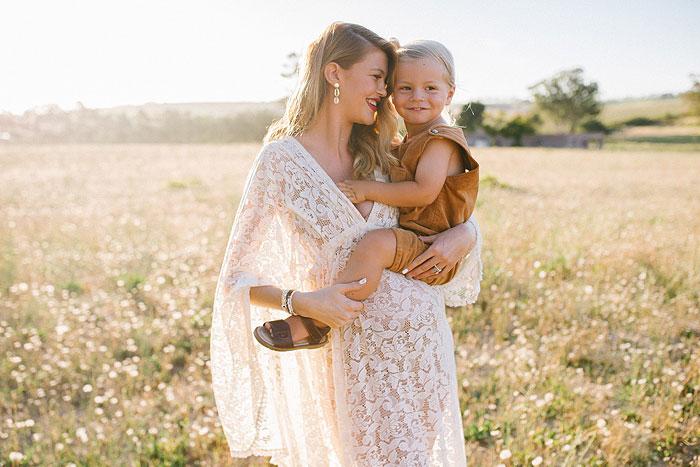 Boho lifestyle maternity shoot Stellenbosch