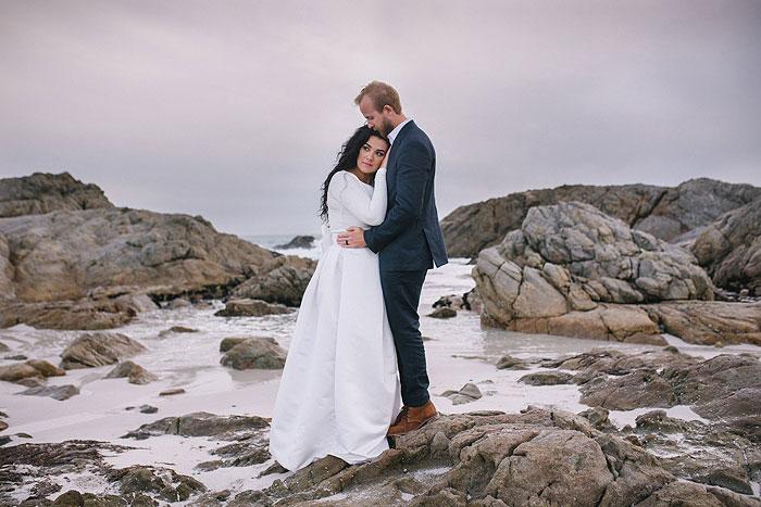 Yzerfontein intimate beach wedding