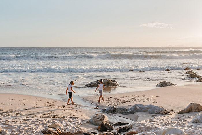 Cape Town family lifestyle beach shoot
