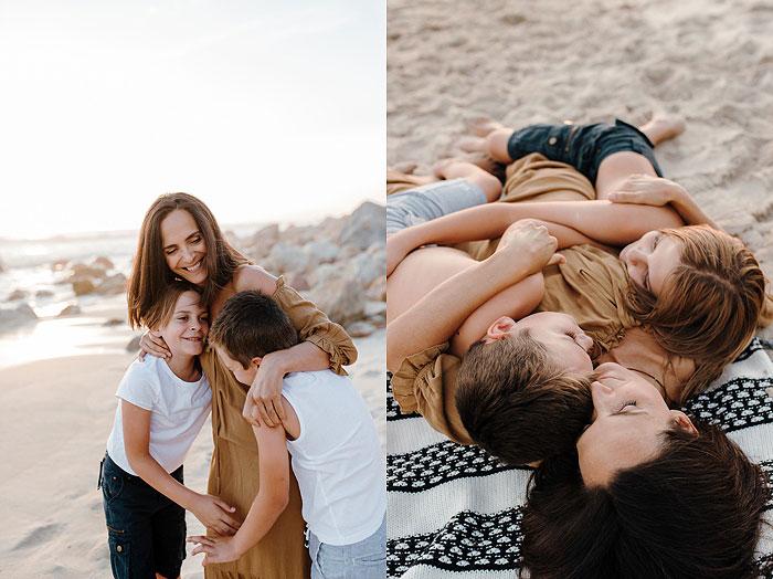 cape town lifestyle beach family shoot