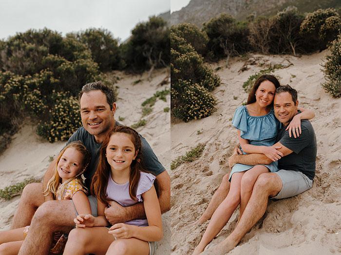 Cape Town Family beach shoot